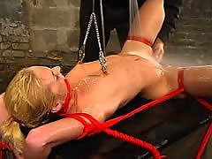 Sexy Slave Fucked While
