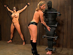 Submissive Slave Wrapped Up