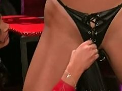 Hot Dominatrix Tickles Her