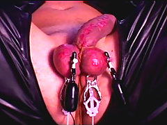 Mature Mistress Tortures Slaves