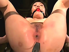 Asian Submissive In Bondage And Ass .. fucking domination bdsm