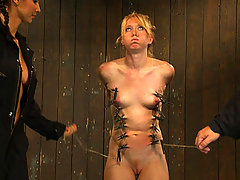 Caged Slaves Whipped Fucked