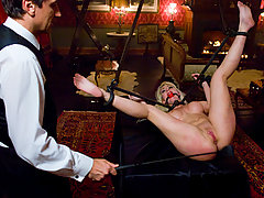Submissive Slave Punished And