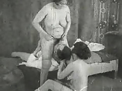 French Vintage Threesome vintage