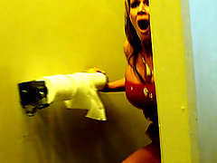 Cum shot surprise   public toilet porn