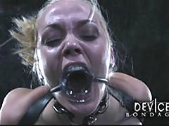 Submissive Blonde In Hard