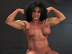 Muscular Babetied Up And