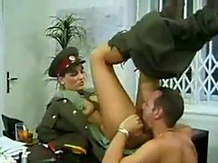 Kgb Military Girl Fucks