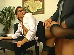 Big Titted Secretary Gets