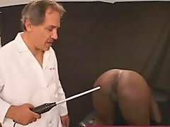 Black Slut Gets Sparked