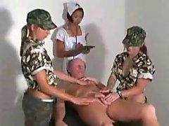 Two Military Girls And