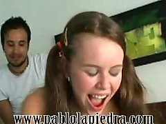 Casting Marcela First Anal facial cumshot anal