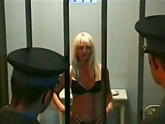 Dp In Prison domination blonde anal