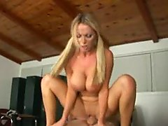 Nikki Benz Riding A