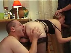 French Bbw Analsex stocking