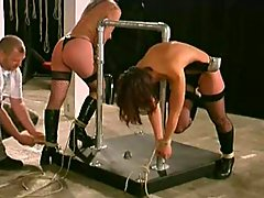 Two Slaves Training Part-1 slave domination