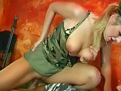 Big Titted Army Girl
