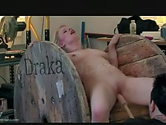 Submission On A Wheel domination blowjob
