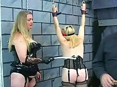 Mistress And Master Abuse And Spank .. spank slave domination