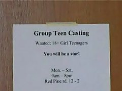 Katya At Teen Group Casting teen group cumshot
