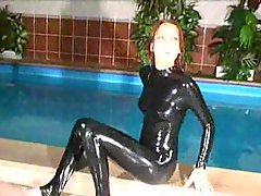 Wet Latex Fun With