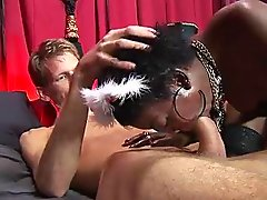 Black prostitute fucking for