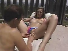 Prison fuck / Sex on patio