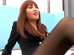 asian nylon pantyhose footjob