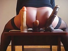 Shemale request 3 dildo