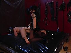 Shocking BDSM with electro