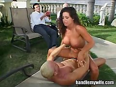 Hot Wife Gets Fucked Hard Outdoors