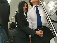 Asian Hot Handjob in