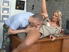 Phoenix Marie demanding sergeant