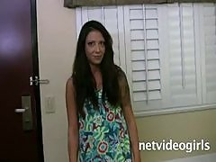 Netvideogirls-Ashley Calendar Audition 