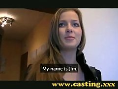 Adorable Babe Casting Audition