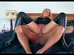 Blonde female cop fucking