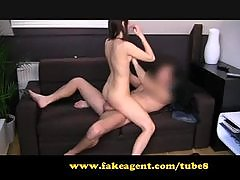 FakeAgent First time creampie for student