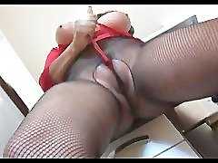 Big tits mature in