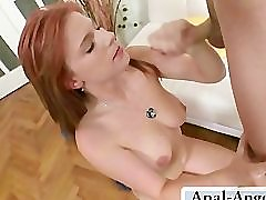 He bangs her asshole