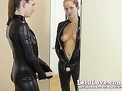 Lelu LoveCatsuit Mirror Kissing