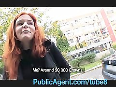 PublicAgent Married redhead Does