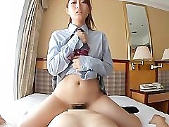 asian schoolgirl with big ass