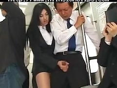 Asian Sexy Handjob In