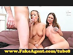 FakeAgent Two hot amateurs