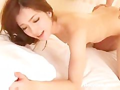 Hot Japanese Teen Enjoys