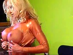 28no+sound29+Ashley+Lawrence+Bronze+Latex.+Ashley+Lawrence+strips+out+..