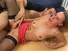 Absolute sauerei Scene 04. Two naughty babes get their pussies ready..