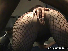 Amateur homemade anal with