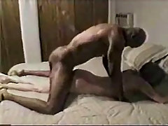 Interracial cuckold amateur action. Mature white wife being fucked b..