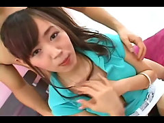 Pretty teen japanese gets